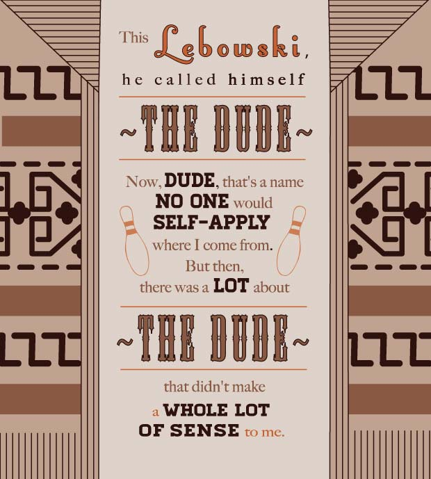 Big Lebowski Quotes: Megandowntherabbithole