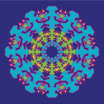 20 Steps to Create a Simple Kaleidoscope Design in Illustrator