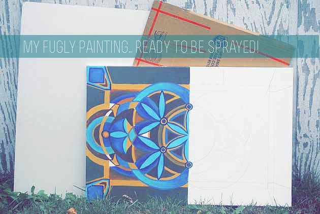 Product Review - Spray Gesso - megandowntherabbithole