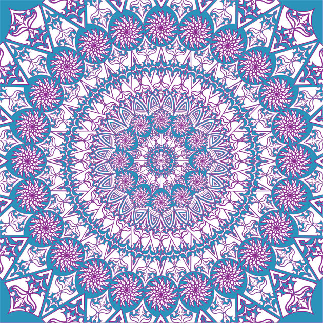 purple-and-blue-kaleidoscope