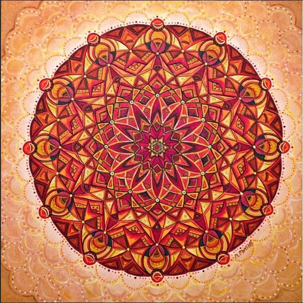Orange Mandala Final