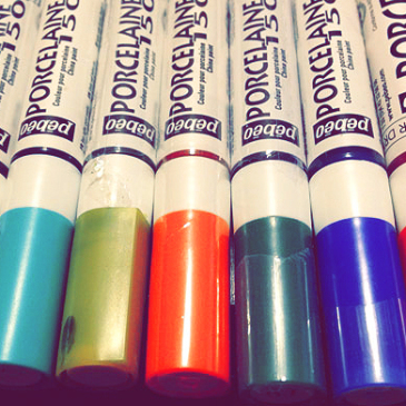 Product Review: Pebeo Porcelaine 150 Paint Markers