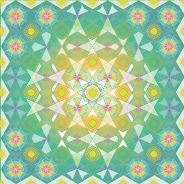 Quilt Mandala {new artwork}