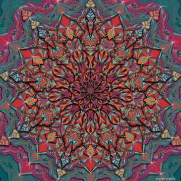 Fall In {new mandala art}