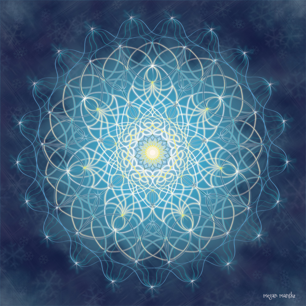 Winter Solstice Mandala 12.21.14