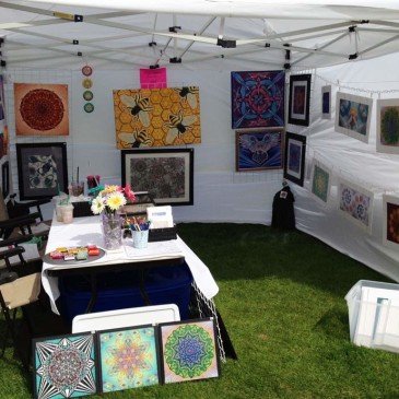 20 Things I Learned Doing My First Outdoor Art Festival