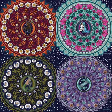 Zodiac Mandala Series