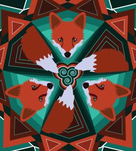 Fox Mandala
