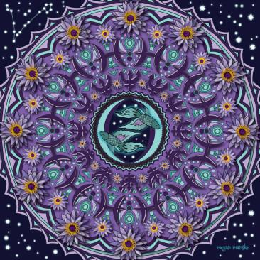 Pisces Mandala