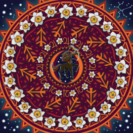 Sagittarius Mandala