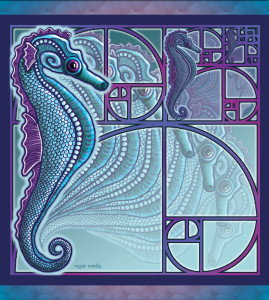 Fibonacci Seahorses Redux